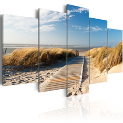 Tablou - Unguarded beach - 5 pieces