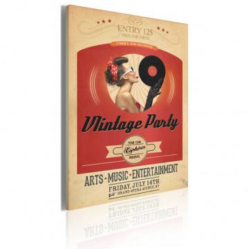 Tablou - Vintage party