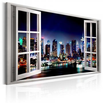 Tablou - Window: View of New York