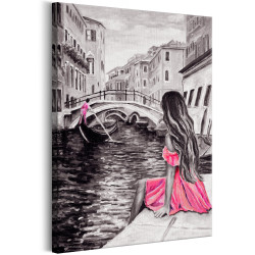 Tablou - Woman in Venice (1 Part) Vertical