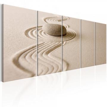 Tablou - Zen: Sand and Stone