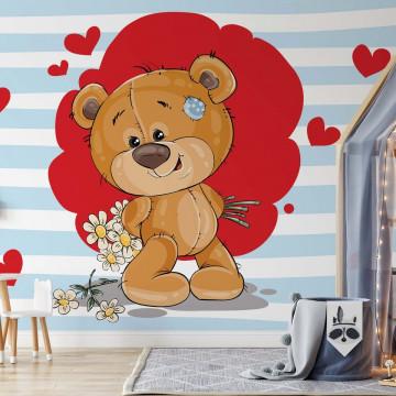 The Big Heart Bears: Bradley has Flowers