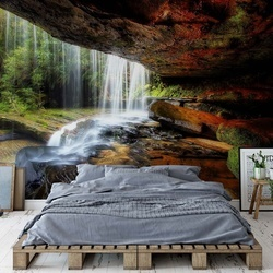 Under The Ledge Photo Wallpaper Mural