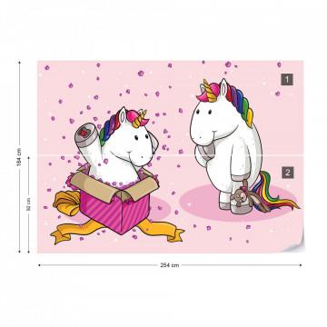 Unicorn Surprise Photo Wallpaper Wall Mural