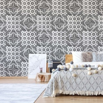 Vintage Tile Pattern Photo Wallpaper Wall Mural