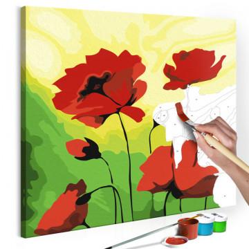 Pictatul pentru recreere - Poppies