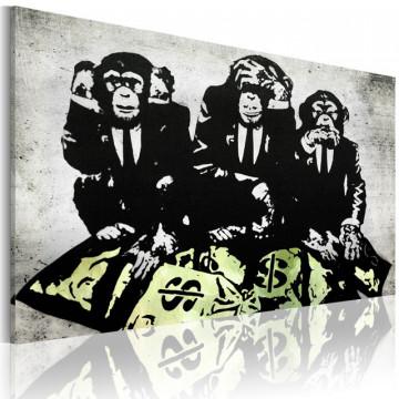 Tablou - Money is a problem II