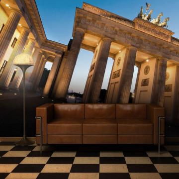 Fototapet - The Brandenburg Gate at dusk, Berlin