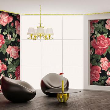 Fototapet - Classical rose background