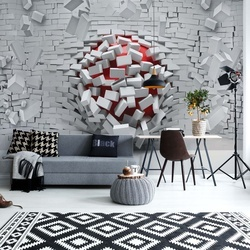 Adult Mural Wallpaper Modern 3D Photo Wallpaper Wall Mural