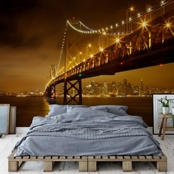 Bay Bridge Photo Wallpaper Mural