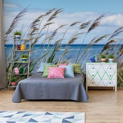 Beach Sea Sand Dunes Coastal Photo Wallpaper Wall Mural