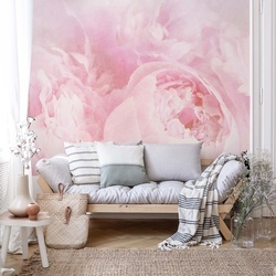 Beautiful Blooms Faded Vintage Pink