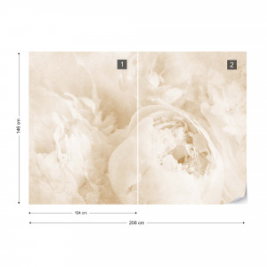 Beautiful Blooms Faded Vintage Sepia