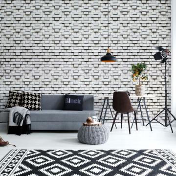 Brick Wall Pattern Photo Wallpaper Wall Mural