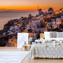 Calispera Santorini Photo Wallpaper Mural