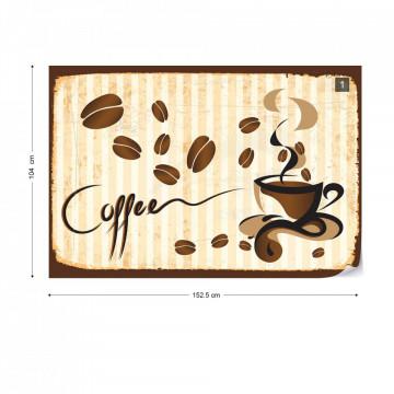 Coffee Photo Wallpaper Wall Mural