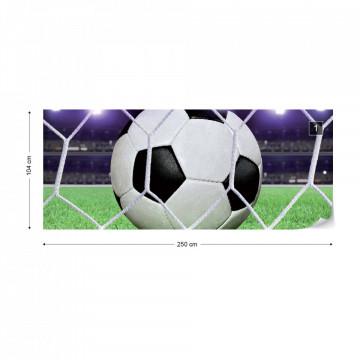 Football Stadium Photo Wallpaper Wall Mural