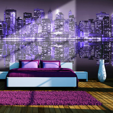 Fototapet - American violet