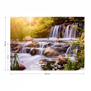 Fototapet - Apă în Cascadă