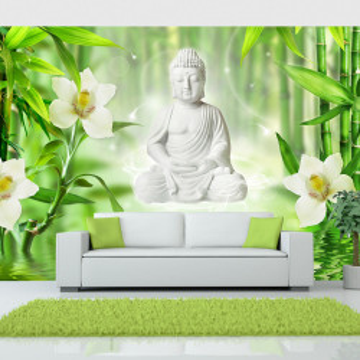 Fototapet autoadeziv - Buddha and nature
