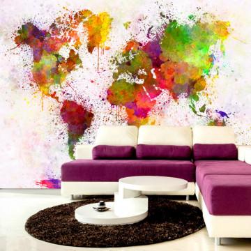 Fototapet autoadeziv - Dyed World