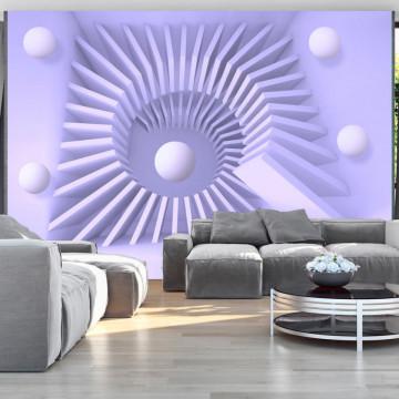 Fototapet autoadeziv - Lavender maze