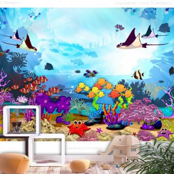 Fototapet autoadeziv - Underwater Fun