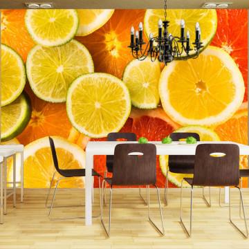 Fototapet - Citrus fruits
