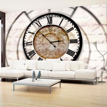Fototapet - Clock movement