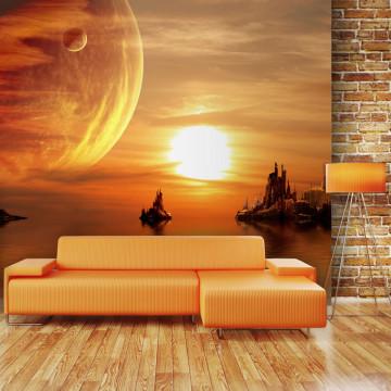 Fototapet - Fantasy sunset