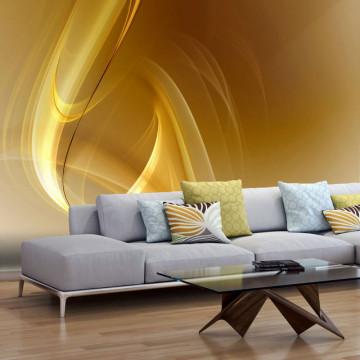 Fototapet - Gold fractal background