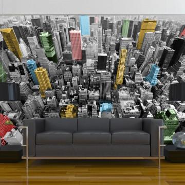 Fototapet - NY kaleidoscope