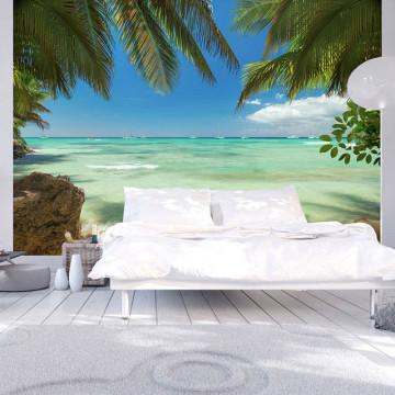 Fototapet - Relaxing on the beach