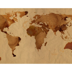 Fototapet - Tea map of the World