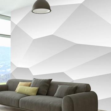 Fototapet - White geometry