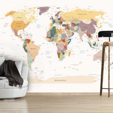 Fototapet - World Map
