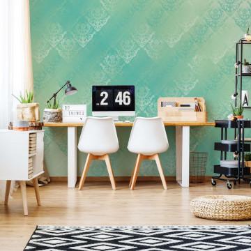 Green Abstract Texture Photo Wallpaper Wall Mural