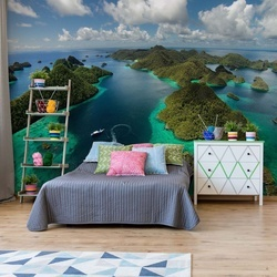 Green Paradise Photo Wallpaper Mural