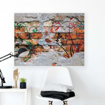 Grunge Walls Canvas Photo Print