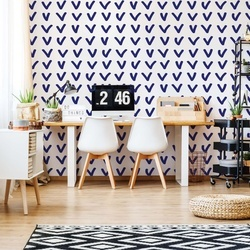 Hand-Drawn Pattern Photo Wallpaper Wall Mural