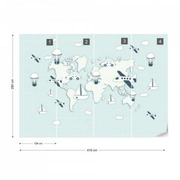 Harta Lumii – Mijloace de Transport