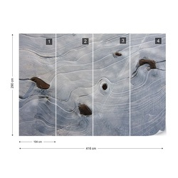 Ice Structures Photo Wallpaper Mural
