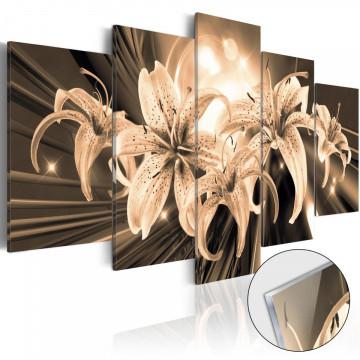 Imagine pe sticlă acrilică - Bouquet of Memories [Glass]