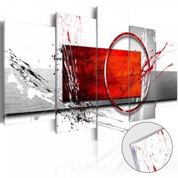 Imagine pe sticlă acrilică - Wintry Expression [Glass]