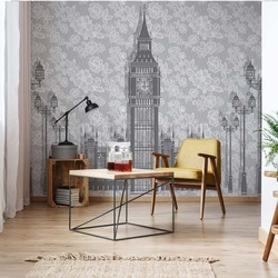 London Design Photo Wallpaper Wall Mural