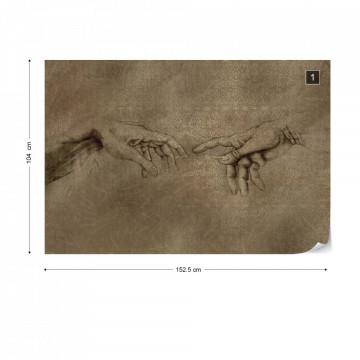 Michaelangelo Creation Of Adam Art Photo Wallpaper Wall Mural