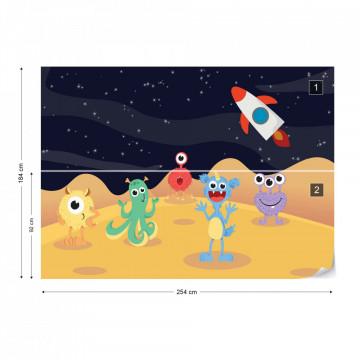 Monstruleții Prietenoși – Aventură în Spațiu