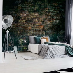 Multi House Photo Wallpaper Mural
