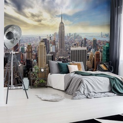 New York City Skyline Photo Wallpaper Wall Mural